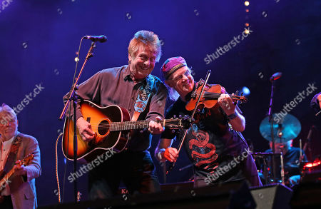 Joe Brown and Ric Sanders from Fairport Convention