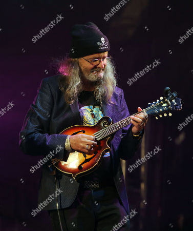 Stock Picture of Fairport Convention - Chris Leslie