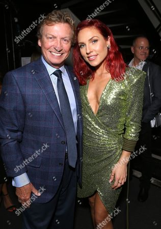 Nigel Lythgoe and Sharna Burgess