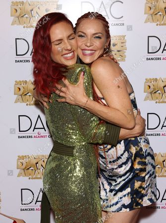 Sharna Burgess and Carmit Bachar
