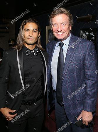 Hector David Jr. and Nigel Lythgoe