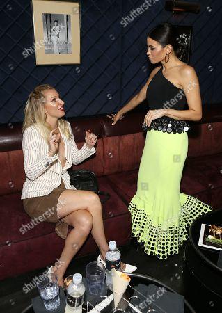 Heather Morris and Jenna Dewan