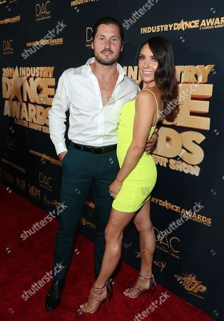 Valentin Chmerkovskiy and Jenna Johnson