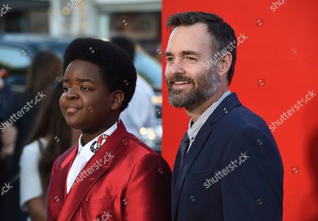"Keith L. Williams, Will Forte. Keith L. Williams, left, and Will Forte arrive at the premiere of ""Good Boys"", at the Regency Village Theatre in Los Angeles"
