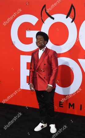 """Keith L. Williams arrives at the premiere of """"Good Boys"""", at the Regency Village Theatre in Los Angeles"""