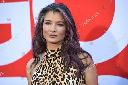 "Kelly Hu arrives at the premiere of ""Good Boys"", at the Regency Village Theatre in Los Angeles"