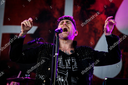 Editorial photo of AFI in concert, Toronto, Canada - 13 Aug 2019