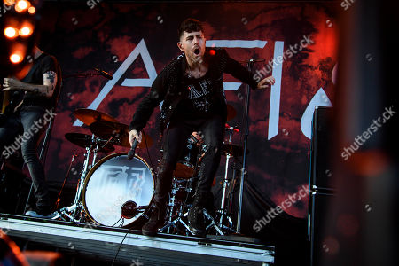 Editorial picture of AFI in concert, Toronto, Canada - 13 Aug 2019