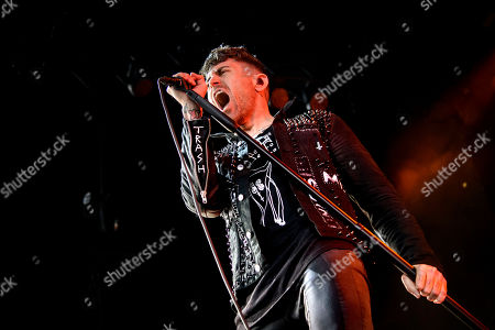 Stock Picture of AFI - Davey Havok