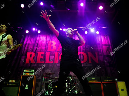 Greg Graffin of Bad Religion performs on stage at The Masquerade, in Atlanta