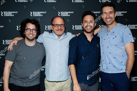 Stock Picture of Michael Mitnick, Lonny Price, Adam Gwon and Josh Rhodes