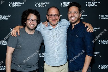 Stock Photo of Michael Mitnick, Lonny Price and Adam Gwon