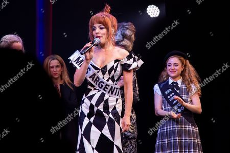 Editorial picture of 'Beetlejuice' musical, Winter Garden Theatre, New York, USA - 13 Aug 2019