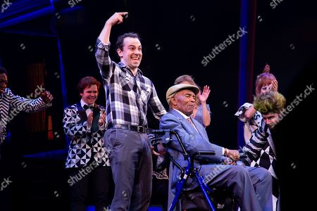 Stock Photo of Rob McClure and Lord Burgess