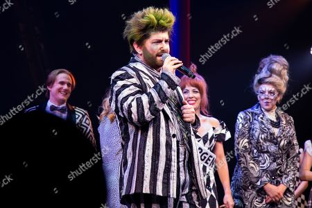 Editorial photo of 'Beetlejuice' musical, Winter Garden Theatre, New York, USA - 13 Aug 2019