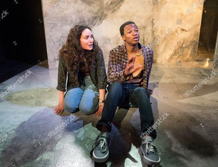 Yasmin Paige as Amber, Simon Manyonda as Tom