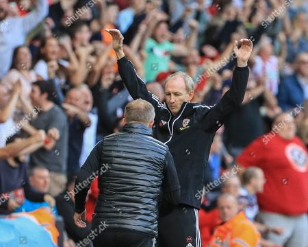 Editorial picture of Sheffield United v Crystal Palace, Premier League, Football, Bramall Lane, Sheffield, UK - 18 Aug 2019
