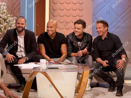 Editorial image of 'Lorraine' TV show, London, UK - 15 Aug 2019