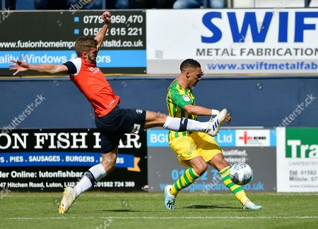 Editorial photo of Luton Town v West Bromwich Albion, EFL Sky Bet Championship, Football, Kenilworth Road, UK - 17 Aug 2019