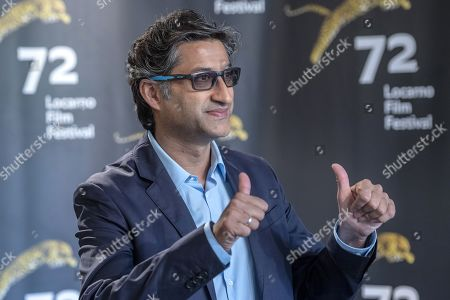 Asif Kapadia poses during a photocall for 'Diego Maradona' at the 72nd Locarno International Film Festival, in Locarno, Switzerland, 15 August 2019. The Festival del film Locarno runs from 07 to 17 August.