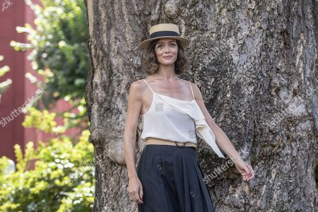 Stock Image of Francesca Cavallin poses during a photocall for 'The Nest' (Il Nido) at the 72nd Locarno International Film Festival, in Locarno, Switzerland, 15 August 2019. The Festival del film Locarno runs from 07 to 17 August.
