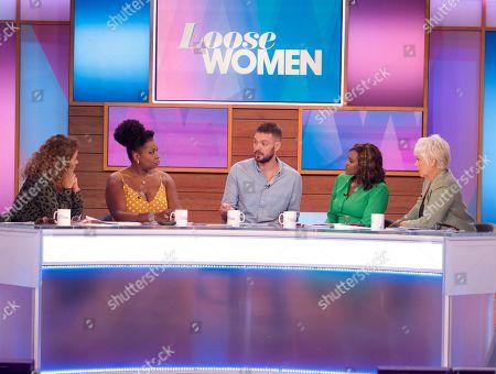 Editorial photo of 'Loose Women' TV show, London, UK - 15 Aug 2019
