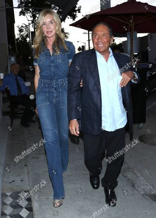 Paul Anka and Lisa Pemberton