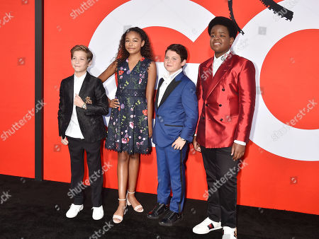 Jacob Tremblay, Millie Davis, Brady Noon, Keith L. Williams