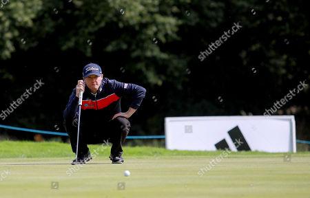 Editorial photo of Northern Ireland Open, Galgorm Castle Golf Club, Co. Antrim  - 15 Aug 2019