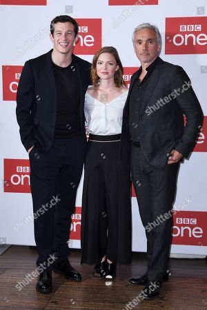 Callum Turner, Holliday Grainger and Ben Miles