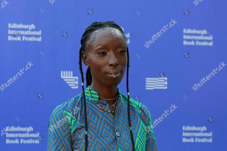 Eunice Olumide attends a photo call