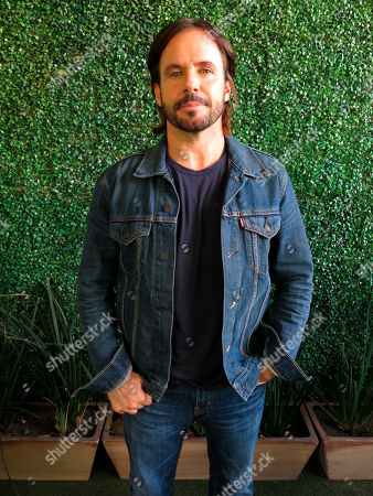 "Stock Picture of Mexican director Fernando Lebrija poses for a portrait in Mexico City. Lebrija is one of the directors and executive producers of the Amazon Prime series ""El juego de las llaves"" to premiere on the streaming service on August 16"