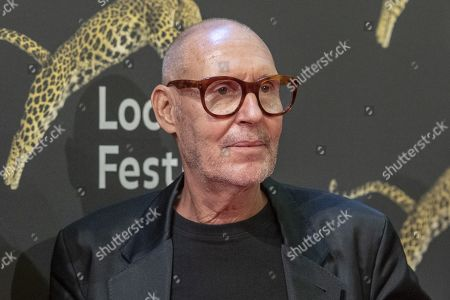 Stock Picture of Swiss Photographer Michel Comte at the red carpet on the Piazza Grande, at the 72th Locarno International Film Festival in Locarno, Switzerland, 15 August 2019. The Festival del film Locarno runs from 07 to 17 August.