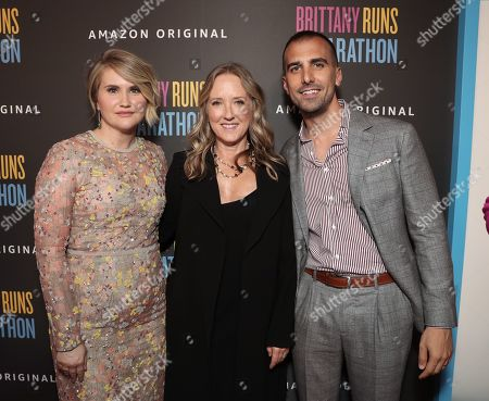Jillian Bell, Head of Amazon Studios Jennifer Salke and Paul Downs Colaizzo