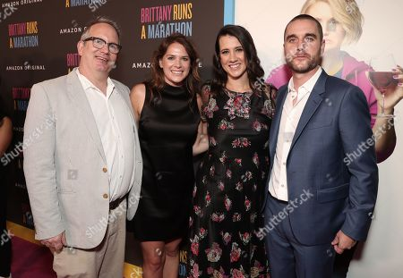 Stock Photo of Amazon Studios Co-Head of Motion Picture Production Ted Hope, Amazon Studios Co-Head of Motion Picture Production Julie Rapaport, Margot Hand and Matthew Plouffe