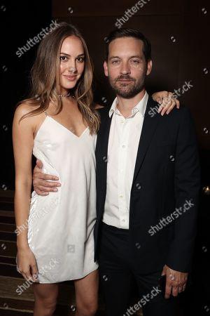 Tatiana Dieteman and Tobey Maguire