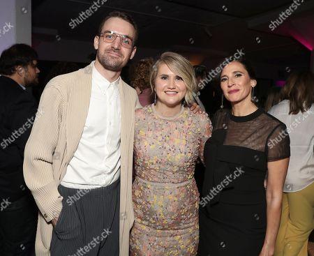 Micah Stock, Jillian Bell and Michaela Watkins