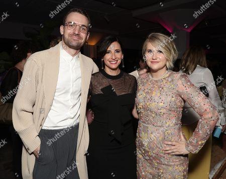 Micah Stock, Michaela Watkins and Jillian Bell
