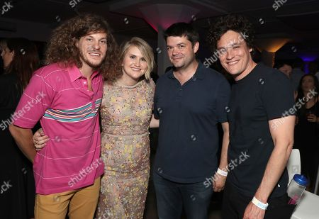 Blake Anderson, Jillian Bell, Chris Miller and Phil Lord