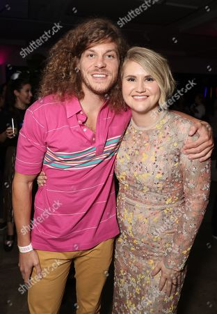 Blake Anderson and Jillian Bell