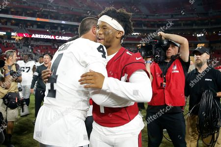 Editorial picture of Raiders Cardinals Football, Glendale, USA - 15 Aug 2019