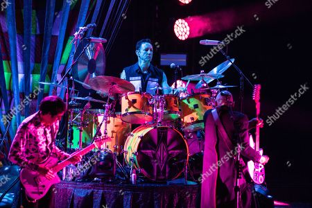 The Smashing Pumpkins - Jeff Schroeder, Jimmy Chamberlin and Billy Corgan