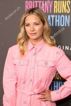 "Vanessa Ray attends the LA Premiere of ""Brittany Runs a Marathon"" at th Regal LA Live & 4DX, in Los Angeles"