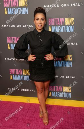 "Chrissie Fit attends the LA Premiere of ""Brittany Runs a Marathon"" at th Regal LA Live & 4DX, in Los Angeles"
