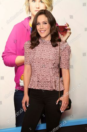 "Erin Krakow attends the LA Premiere of ""Brittany Runs a Marathon"" at th Regal LA Live & 4DX, in Los Angeles"