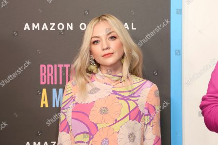 "Emily Kinney attends the LA Premiere of ""Brittany Runs a Marathon"" at th Regal LA Live & 4DX, in Los Angeles"