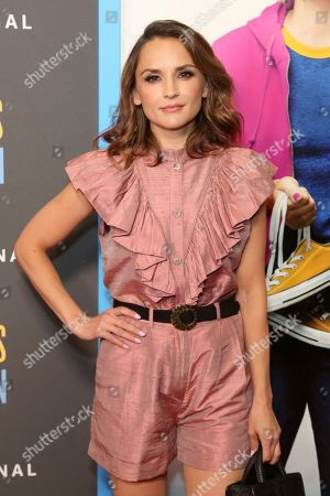 """Rachael Leigh Cook attends the LA Premiere of """"Brittany Runs a Marathon"""" at th Regal LA Live & 4DX, in Los Angeles"""