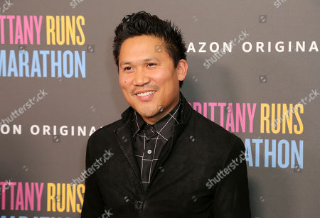 "Stock Image of Dante Basco attends the LA Premiere of ""Brittany Runs a Marathon"" at th Regal LA Live & 4DX, in Los Angeles"