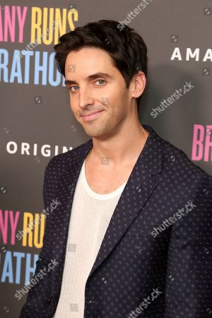 "Stock Photo of Paul W. Downs attends the LA Premiere of ""Brittany Runs a Marathon"" at th Regal LA Live & 4DX, in Los Angeles"