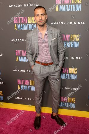 "Paul Downs Colaizzo attends the LA Premiere of ""Brittany Runs a Marathon,"" at the Regal LA Live & 4DX, in Los Angeles"